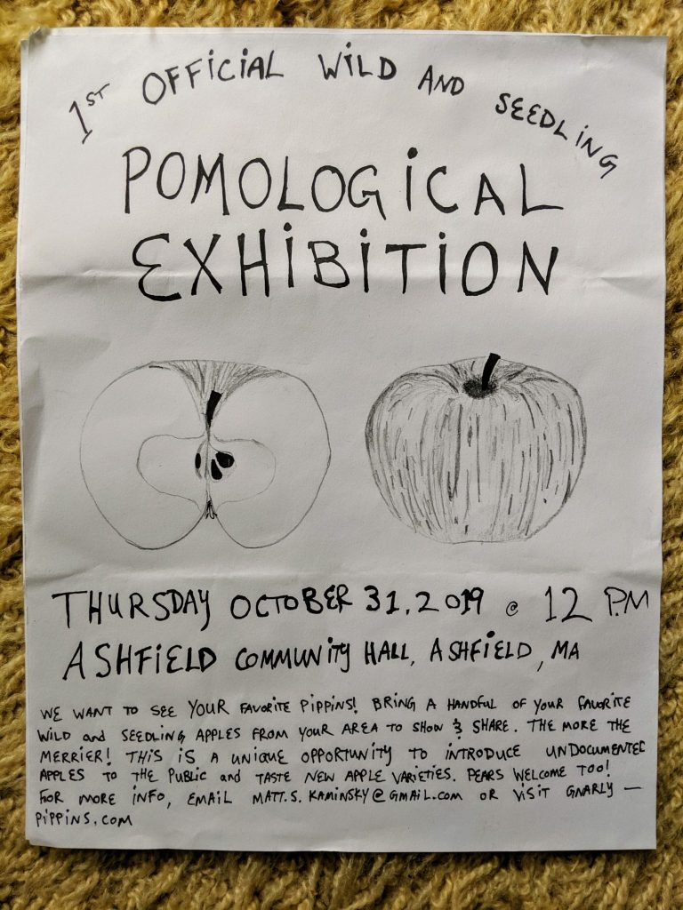 Wild and Seedling Pomological Exhibition // INFO INSIDE
